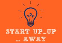 Start up, UP & AWAY